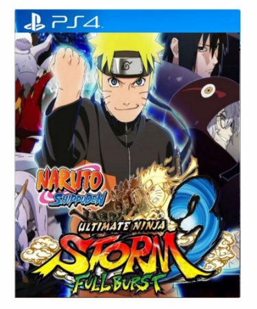 Naruto Shipuden: Ultimate Ninja STORM 3 Full Burst psn ps4 midia digital