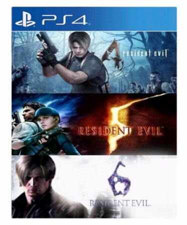 Resident evil triple pack ps4 psn midia digital