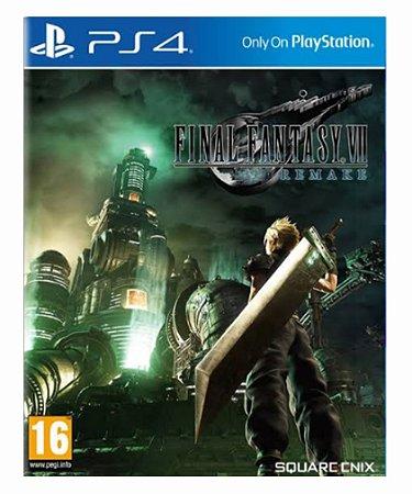 Final fantasy 7 Remake ps4 psn midia digital