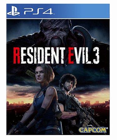 Resident evil 3 Ps4 Psn midia digital