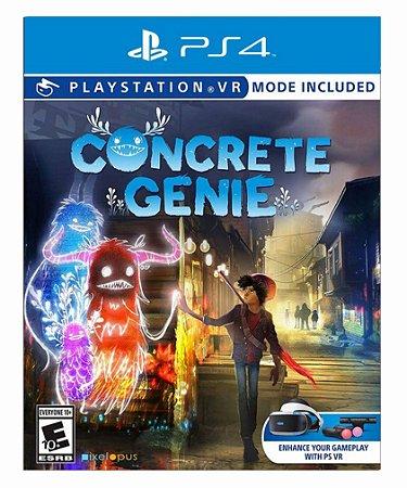 Concrete genie ps4 psn midia digital