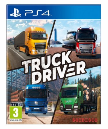Truck Driver ps4 psn midia digital