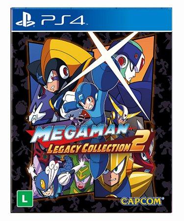 Mega man legacy collection 2 ps4 psn midia digital