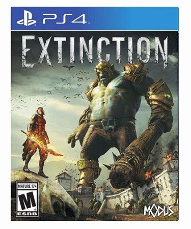 Extinction ps4 psn midia digital