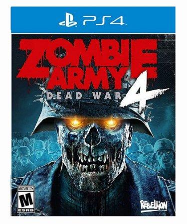 Zombie army 4: War ps4 psn midia digital