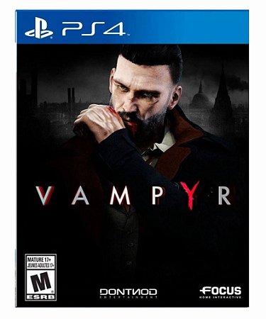Vampyr ps4 psn midia digital