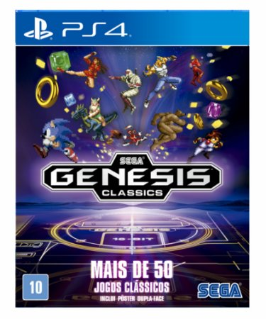 SEGA Genesis Classics ps4 psn midia digital