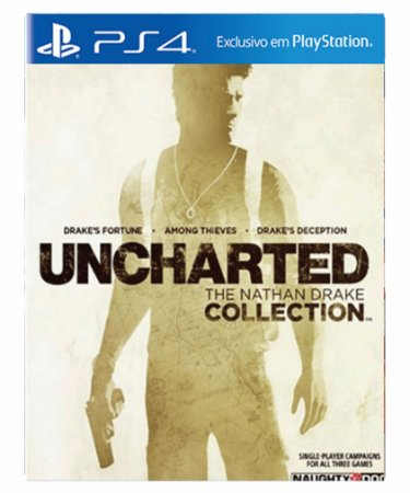 Uncharted the nathan drake collection- ps4 psn midia digital