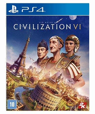 Sid Meier's Civilization VI Ps4 psn midia digital