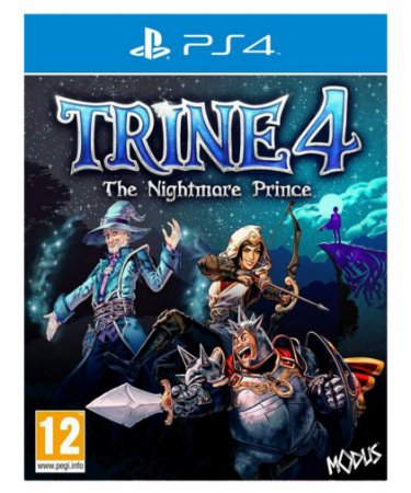 Trine 4: The nightware prince ps4 psn midia digital