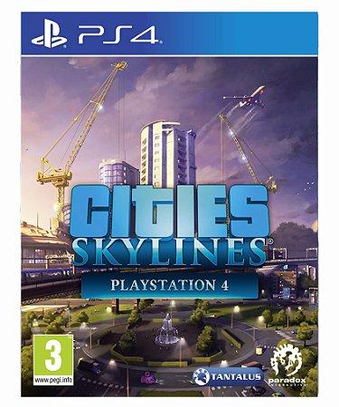 Cities: Skylines -  ps4 psn midia digital