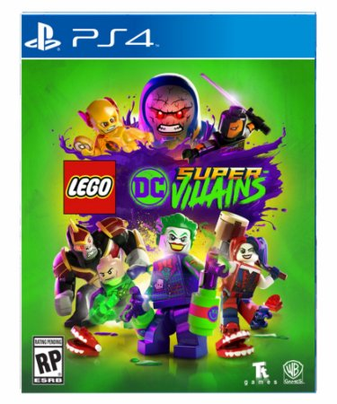 LEGO DC Super-Villains ps4 psn midia digital