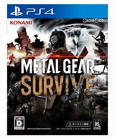 Metal gear survive ps4 psn midia digital