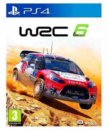 WRC 6 -Ps4 psn midia digital