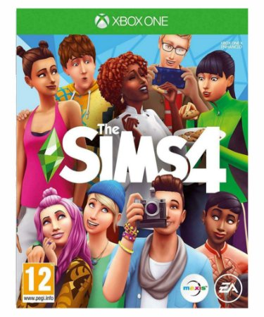 The sims 4- Xbox one midia digital