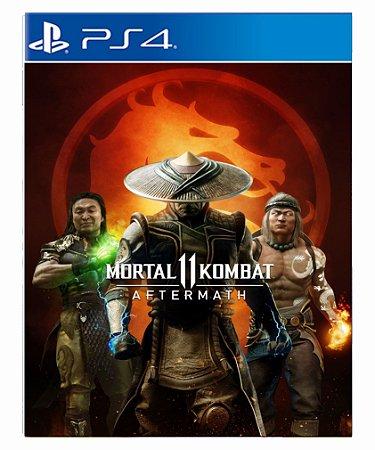 Mortal Kombat 11: Koleção Aftermath ps4 midia digital