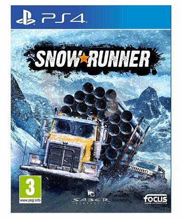 SnowRunner-PS4 PSN MIDIA DIGITAL