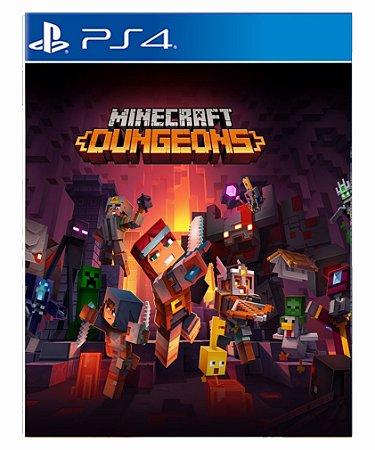 Minecraft Dungeons-PS4 PSN midia digital