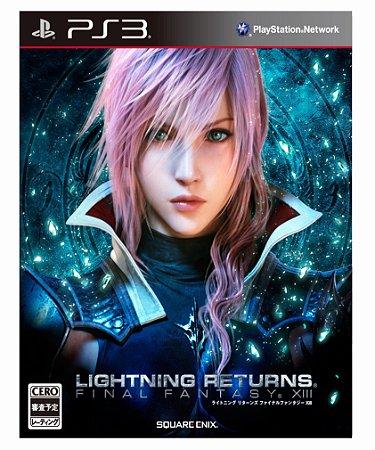 FINAL FANTASY LIGHTINING RETURNS-PS3 MIDIA DIGITAL