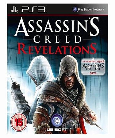 Assassins creed revelations- PS3 PSN midia digital