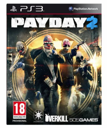 Payday 2 - PS3 PSN mídia digital