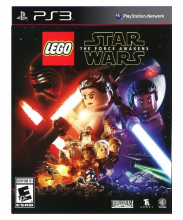 Lego star Wars force Awakens-PS3 PSN Midia Digital