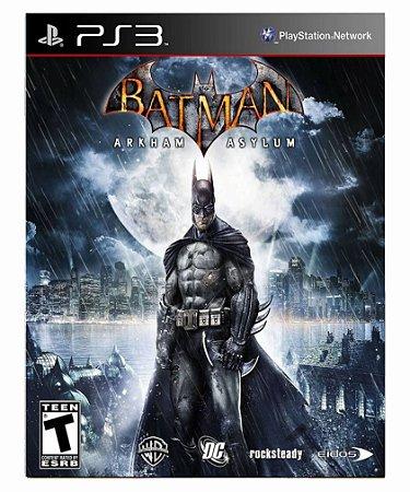 Batman Arkham Asylum-PS3 PSN midia digital