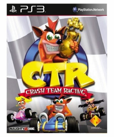 Crash team racing-PS3 midia digital