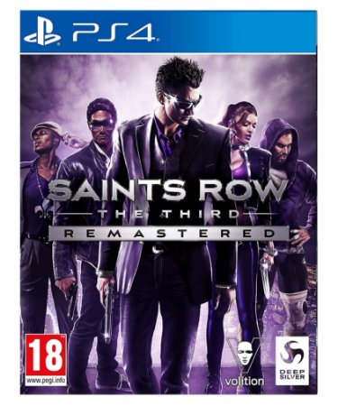 Saints Row the third Remastered-PS4 Mídia digital