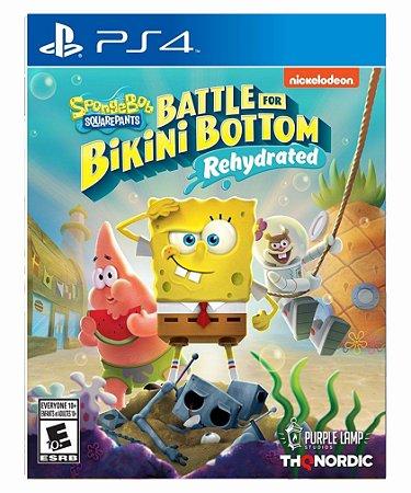 SpongeBob SquarePants: Battle for Bikini Bottom  Rehydrated- PS4 MIDIA DIGITAL