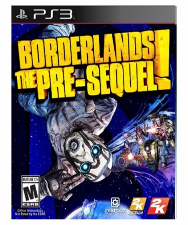 Borderlands The Pre-Sequel-ps3 midia digital