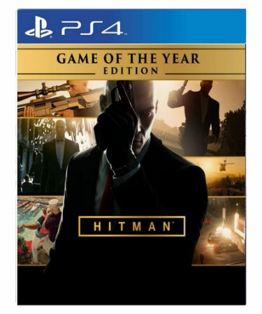 HITMAN Game of the Year Edition-ps4 midia digital