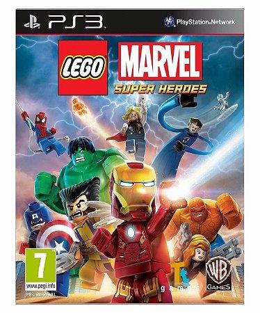 Lego Marvel Super Heroes-ps3 psn mídia digital