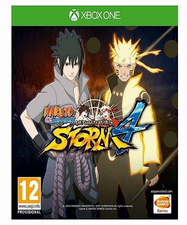 Naruto Shippuden Ultimate Ninja Storm 4 - xbox one mídia digital