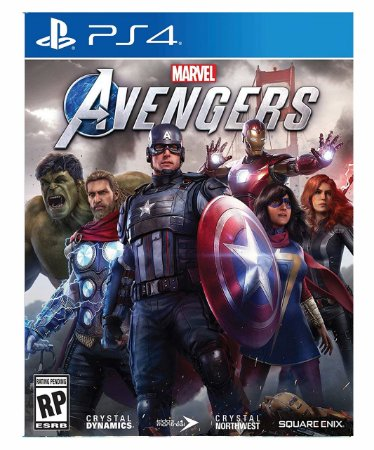 Marvel avengers-ps4 psn midia digital