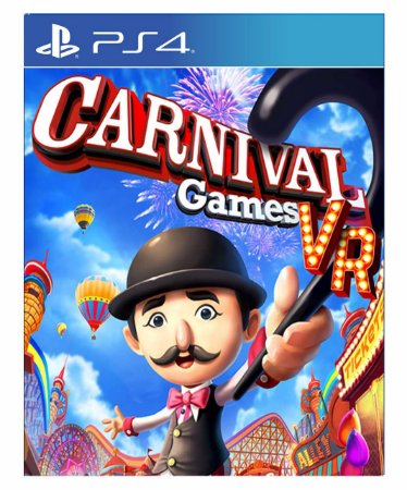 Carnival Games VR Ps4 - Psn - Mídia Digital