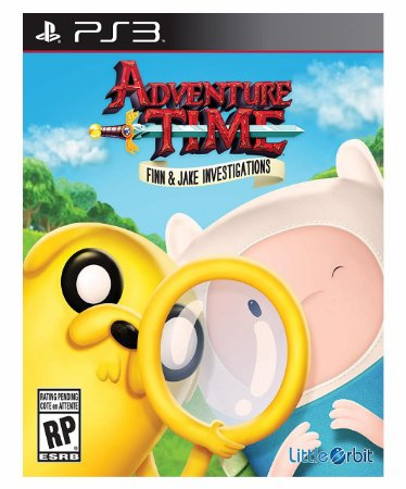 Adventure time finn and jake investigations Mídia digital ps3