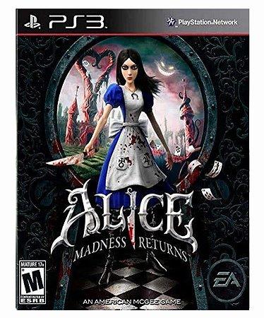 Alice Madness Returns Mídia Digital Ps3
