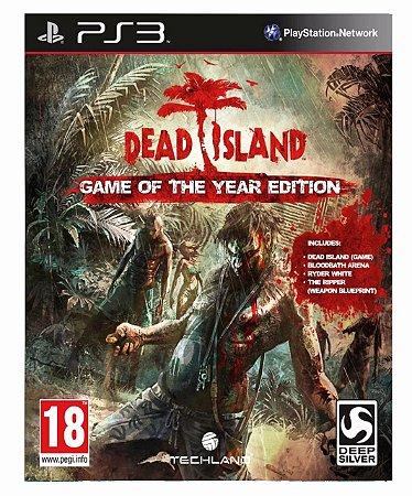 Dead Island  Mídia Digital ps3