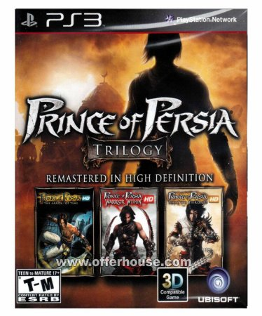 Prince of Persia Classic Trilogy HD Ps3 Mídia Digital