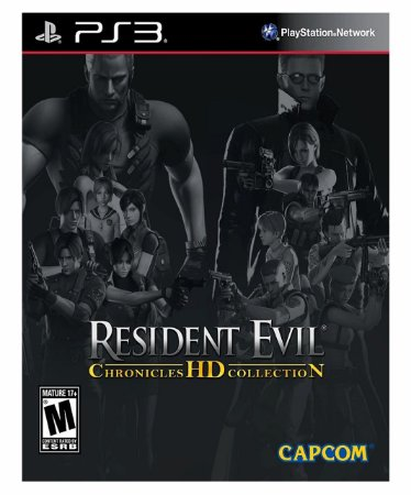RESIDENT EVIL CHRONICLES HD COLLECTION-PS3 PSN midia digital