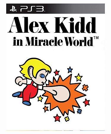 Alex Kidd in Miracle World - Ps3 Mídia Digital