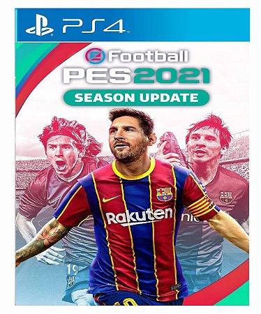 PES 2021  Efootball Season Update  - PS4 PSN Mídia Digital