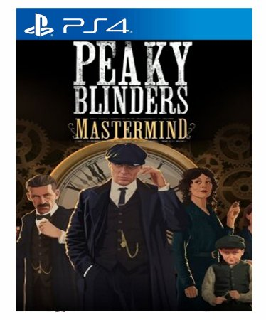 Peaky Blinders: Mastermind - Ps4 Psn Mídia Digital
