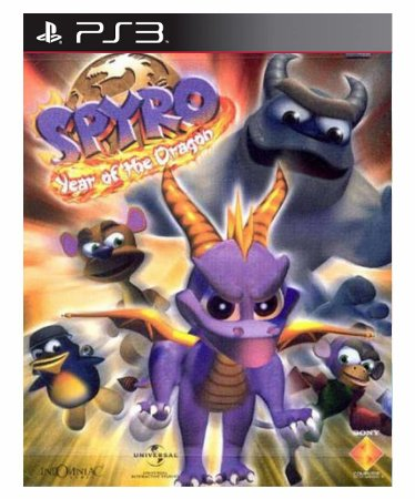 Spyro Year of the Dragon (PSOne Classic) Ps3 Psn Mídia Digital
