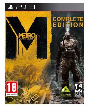 Metro Last Light  Complete Edition - Ps3 Psn Mídia Digital