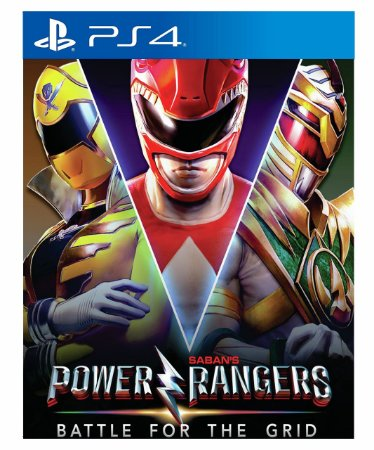 Power Rangers Battle For The Grid - Ps4 Psn Mídia Digital