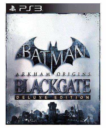 Batman Arkham Origins Blackgate Deluxe Edition - Ps3 Psn Mídia Digital