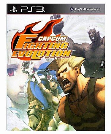 Capcom Fighting Evolution (PS2 Classic) Ps3 Psn Mídia Digital