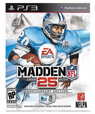 Madden NFL 25 Ps3 Psn Mídia Digital
